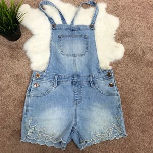 Cat and Jack Overall Short Girl Jean Sz L